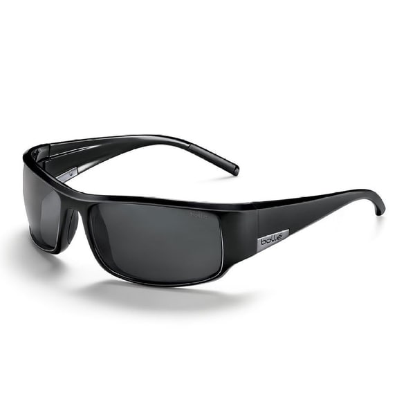 b1c004849c Shop Bolle 10997 King Shiny Black Polarized TNS Sport Sunglasses - Free  Shipping Today - Overstock - 9941383