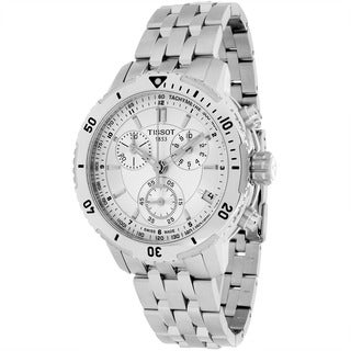 Tissot Men's T0674171103100 PRS 200 Round Silvertone Bracelet Watch