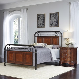 Home Styles Richmond Hill Bed and Night Stand