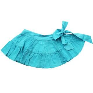 Azul Swimwear Girls' Turquoise Sash Skirt|https://ak1.ostkcdn.com/images/products/9941517/P17096624.jpg?impolicy=medium