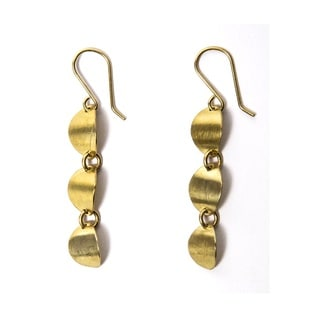 Brass Mutuku Earrings (Kenya)