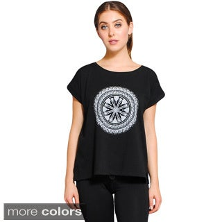Women's Organic Cotton Mandala Top