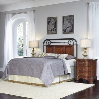 Richmond Hill Headboard and Two Night Stands by Home Styles