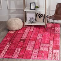 Safavieh Monaco Bohemian Patchwork Pink/ Multi Rug - 9' x 12'