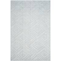 Safavieh Handmade Mirage Mid-Century Modern Blue Wool/ Viscose Rug (9' x 12') - 9' x 12'