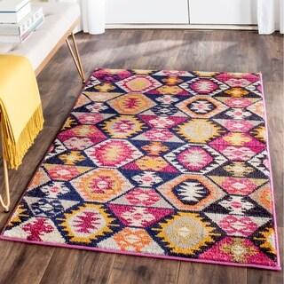 Safavieh Monaco Bohemian Multicolored Rug (6'7 x 9'2)
