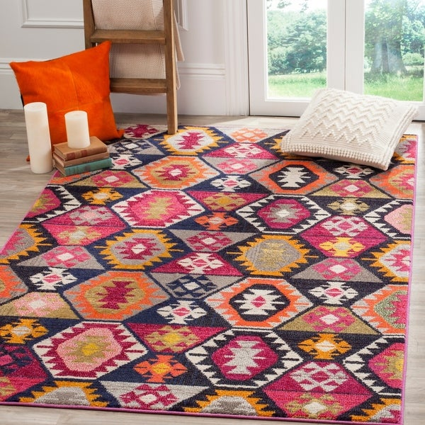 Safavieh Monaco Bohemian Multicolored Rug - 9' x 12'