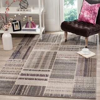 Safavieh Monaco Patchwork Grey / Multicolored Rug (6'7 x 9'2)