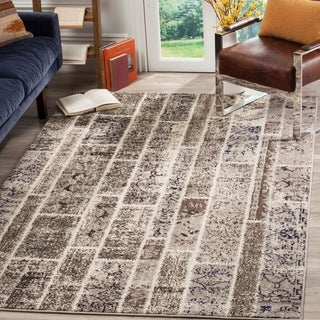 Safavieh Monaco Patchwork Beige/ Multicolored Rug (9' x 12')