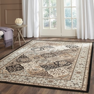 Safavieh Persian Garden Multi/ Light Blue Viscose Rug (6'7 x 9'2)