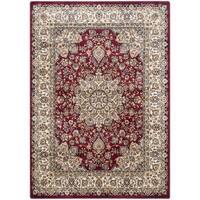 Safavieh Persian Garden Red/ Ivory Viscose Rug - 6'7 x 9'2