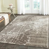 Safavieh Porcello Contemporary Floral Ivory/ Grey Rug - 6' x 9'