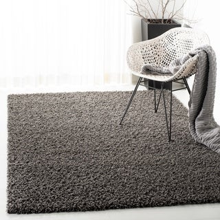 Safavieh Athens Shag Dark Grey Area Rug (9' x 12')