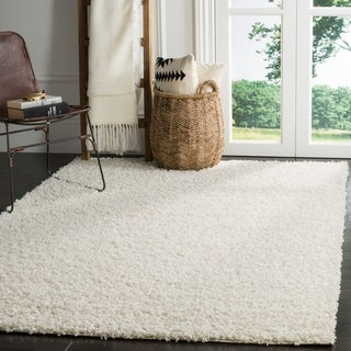 Safavieh Athens Shag Off-white Area Rug (9' x 12')