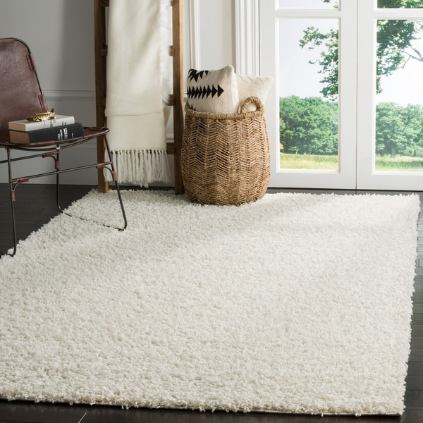 Shop Safavieh Athens Shag Off White Area Rug 9 X 12