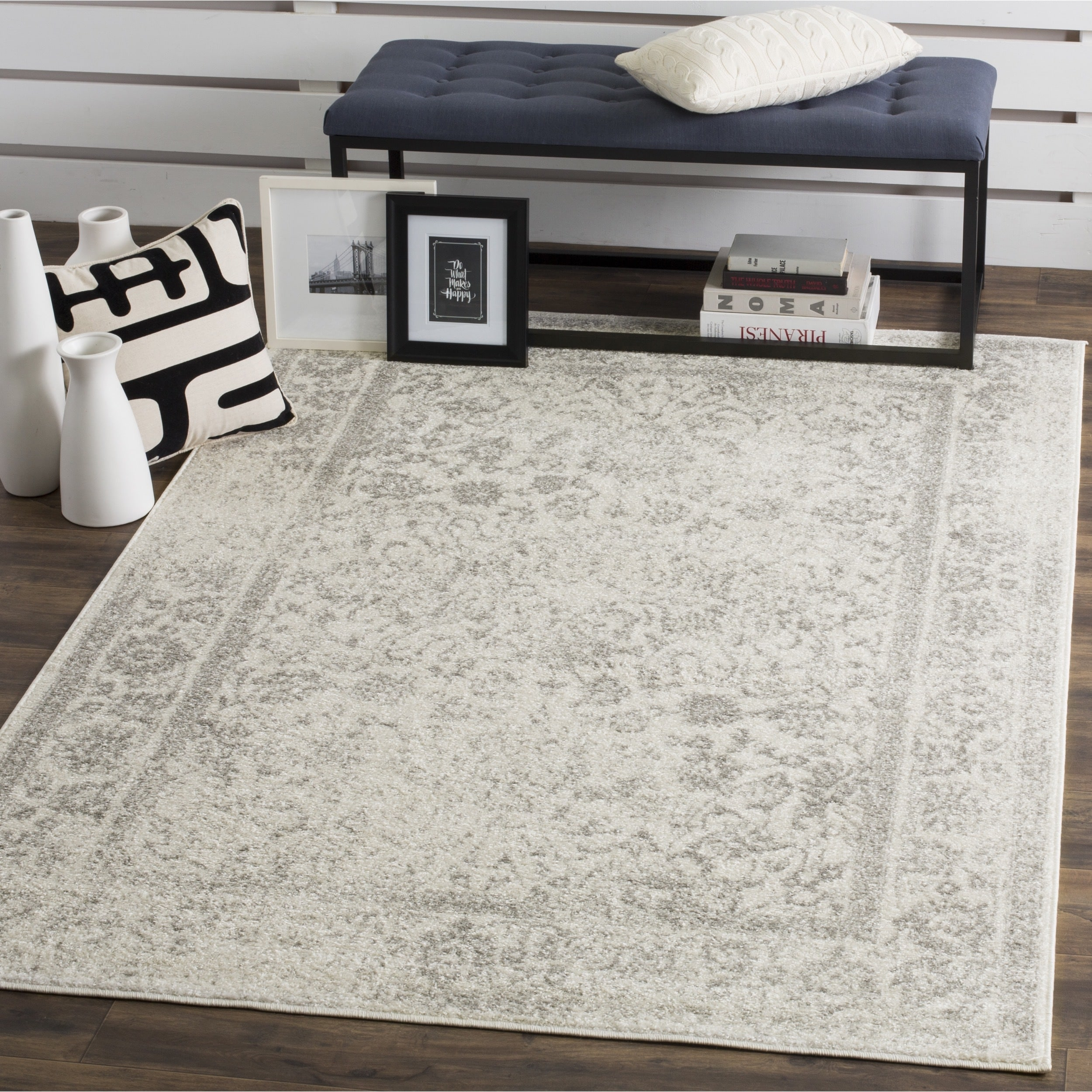 Vintage Accent Area Rug For Living Room