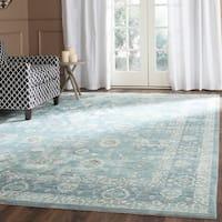 Safavieh Valencia Alpine/ Multi Distressed Silky Polyester Rug (9' x 12')