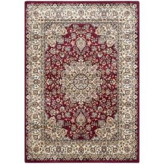 Safavieh Persian Garden Red/ Ivory Viscose Rug (5'1 x 7'7)