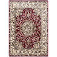 Safavieh Persian Garden Red/ Ivory Viscose Rug - 5'1 x 7'7