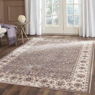 Safavieh Persian Garden Grey/ Ivory Viscose Rug (8' x 11')