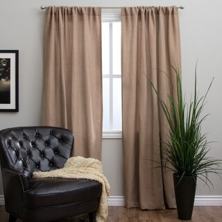"Basket Weave 96-inch Curtain Panel - 50"" x 96"""