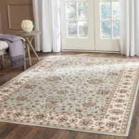 Safavieh Persian Garden Light Blue/ Ivory Viscose Rug - 4' x 5'3""