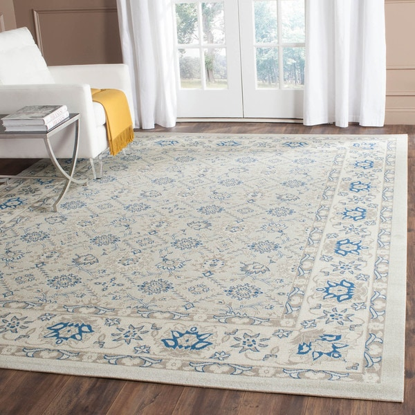 Safavieh Patina Light Blue/ Ivory Rug (8' x 10')