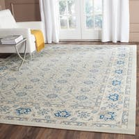 "Safavieh Patina Light Blue/ Ivory Rug - 5'1"" x 7'6"""