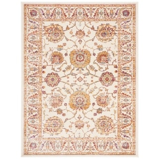 Shop safavieh sevilla ivory multi viscose rug 5 39 3 x 7 39 6 on sale free shipping today - Factory sofas sevilla ...