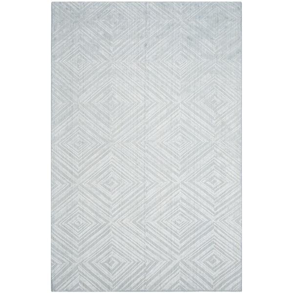 Safavieh Handmade Mirage Mid-Century Modern Blue Wool/ Viscose Rug - 8' x 10'