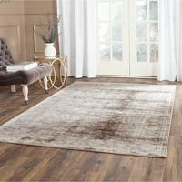 Safavieh Vintage Oriental Brown/ Ivory Distressed Rug - 8' x 10'