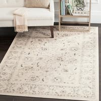 "Safavieh Vintage Oriental Light Grey/ Ivory Distressed Rug - 5'1"" x 7'7"""