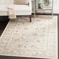 "Safavieh Vintage Oriental Light Grey/ Ivory Distressed Rug - 6'7"" x 9'2"""