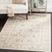 Safavieh Vintage Oriental Light Grey/ Ivory Distressed Rug (6'7 x 9'2) - 6'7 x 9'2