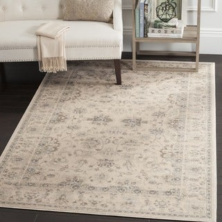 Safavieh Vintage Oriental Cream Distressed Rug (10' x 14')