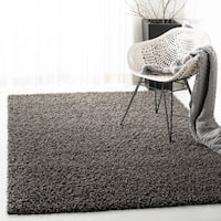Safavieh Athens Shag Dark Grey Area Rug (10' x 14')