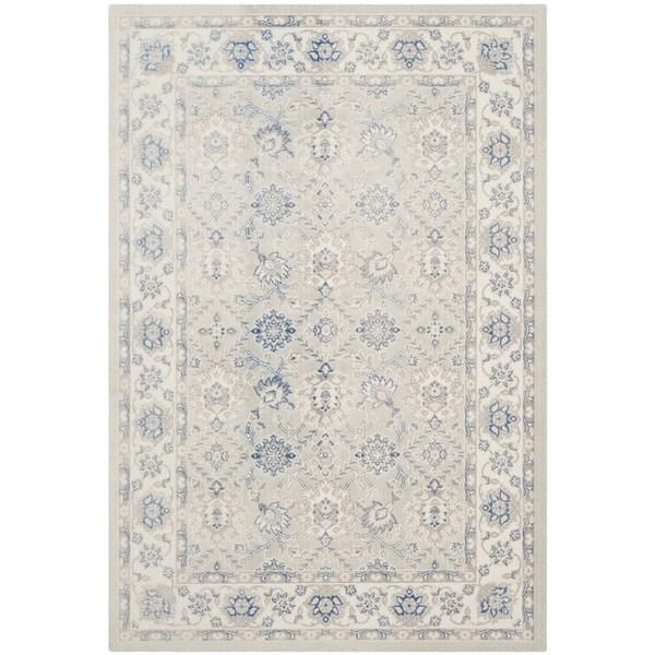 Safavieh Patina Light Blue/ Ivory Rug (10' x 14')