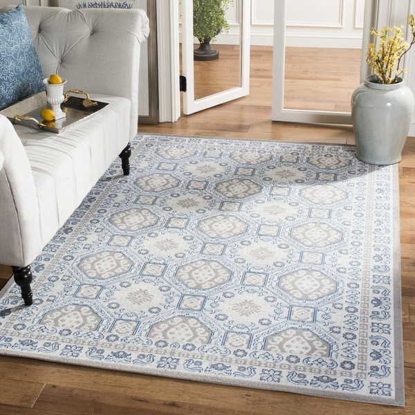 Safavieh Patina Light Grey/ Ivory Rug - 10' x 14'