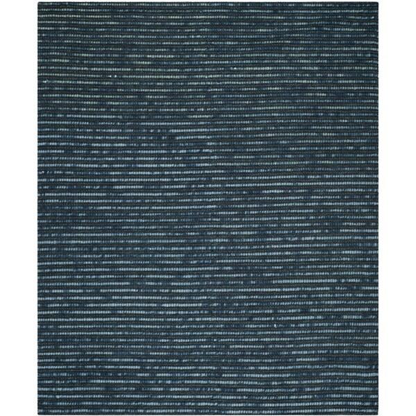 Safavieh Hand-Knotted Bohemian Dark Blue/ Multi Jute Rug - 10' x 14'