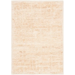 Safavieh Hand-Knotted Tangier Ivory/ Beige Wool/ Jute Rug (6' x 9')