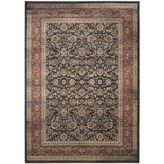Safavieh Vintage Oriental Black/ Rust Distressed Rug (4' x 5'7)