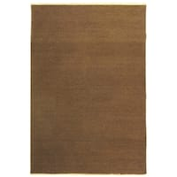 Safavieh Hand-Woven Sumak Mouse/ Brown Wool Rug - 4' x 6'