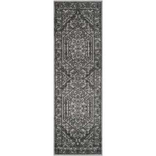 Safavieh Adirondack Vintage Silver/ Black Runner Rug (2'6 x 22')