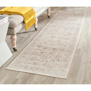 Safavieh Vintage Oriental Light Grey/ Ivory Distressed Rug (2'2 x 12')