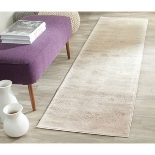 Safavieh Vintage Oriental Cream Distressed Rug (2'2 x 12')