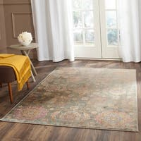 Safavieh Sevilla Grey/ Multi Viscose Rug - 4' x 5'7