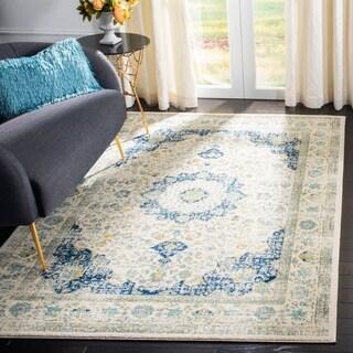 Safavieh Evoke Ivory/ Blue Rug (4' x 6')