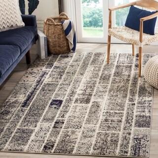 Safavieh Monaco Patchwork Grey / Multicolored Rug (5'1 x 7'7)