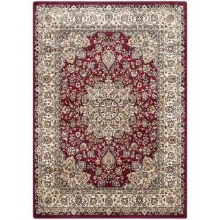 Safavieh Persian Garden Red/ Ivory Viscose Rug (8' x 11')