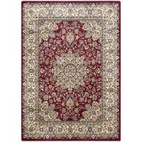Safavieh Persian Garden Red/ Ivory Viscose Rug - 8' x 11'